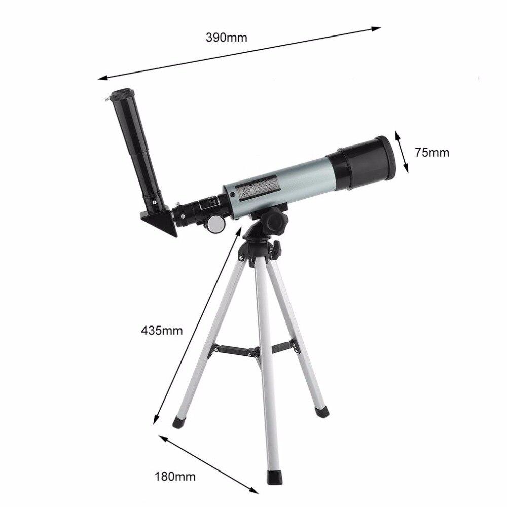 AOTU Extérieure Portable Chasse Réglable Lunette Lunette Astronomique Télescope Monoculaire Avec Trépied Vente Chaude
