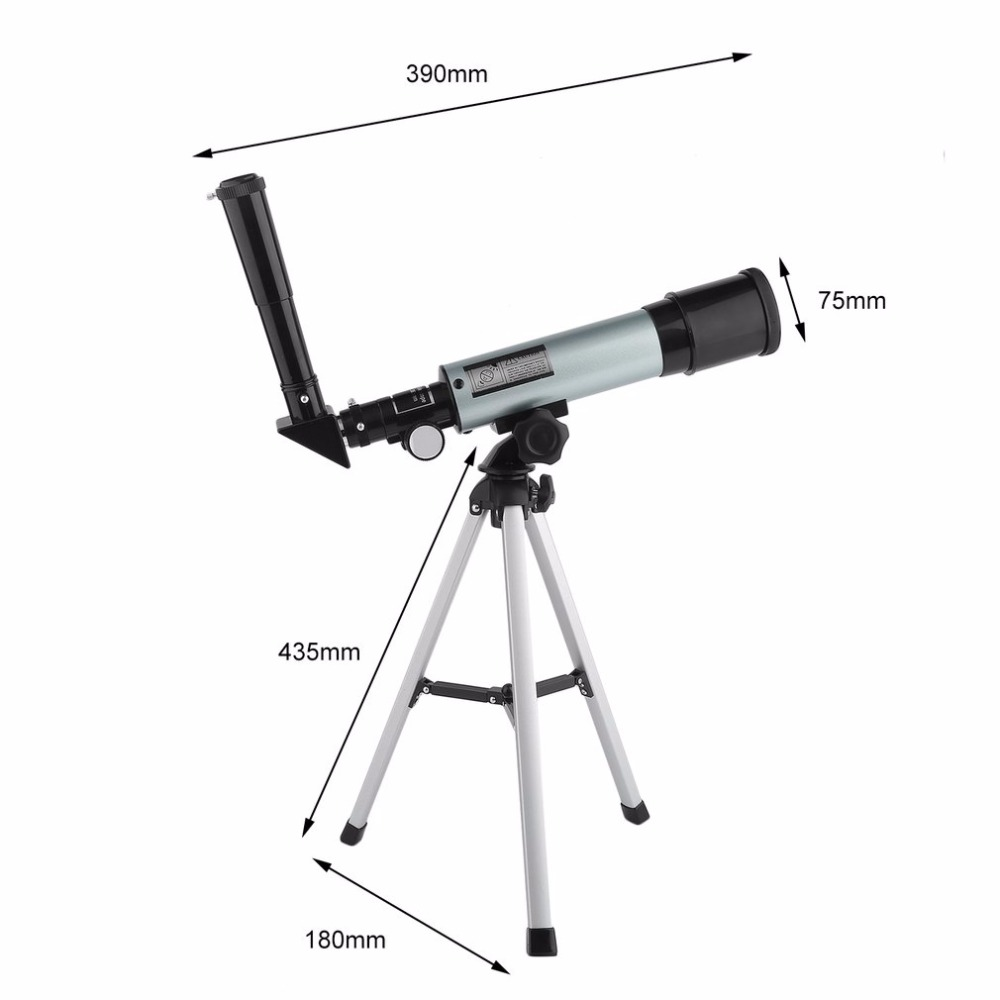 AOTU Outdoor Portable Hunting Adjustable Refractor Spotting Scope Astronomical Telescope Monocular With Tripod Hot Sale gskyer telescope 600x90mm az astronomical refractor telescope german technology scope power astronomical mirror telescope