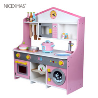 1pcs Children Cooking Toy Exquisite Wooden Japanese Style Exclusive Stove Set Accessories Playsets for Children Boys and Girls