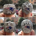 Free Shipping 2001 2003 2004 2014 New England Patriots  Super Bowl  Championship Ring BRADY MVP 4 rings together solid wholesale