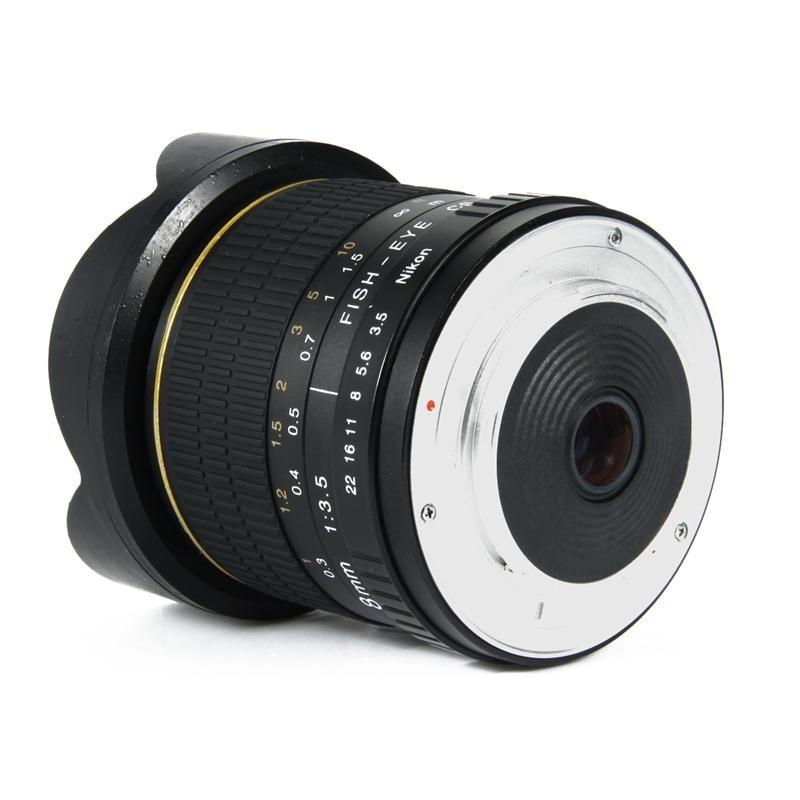 8mm F / 3.5 APS-C / Fully Frame үшін фольклорлы - Камера және фотосурет - фото 3