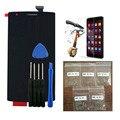 Для OnePlus One 1 + A0001 ЖК-Экран Digitizer Переднее Стекло Ассамблея Сенсорный Экран С Инструментами С Закаленное Стекло + 25 шт. Винты