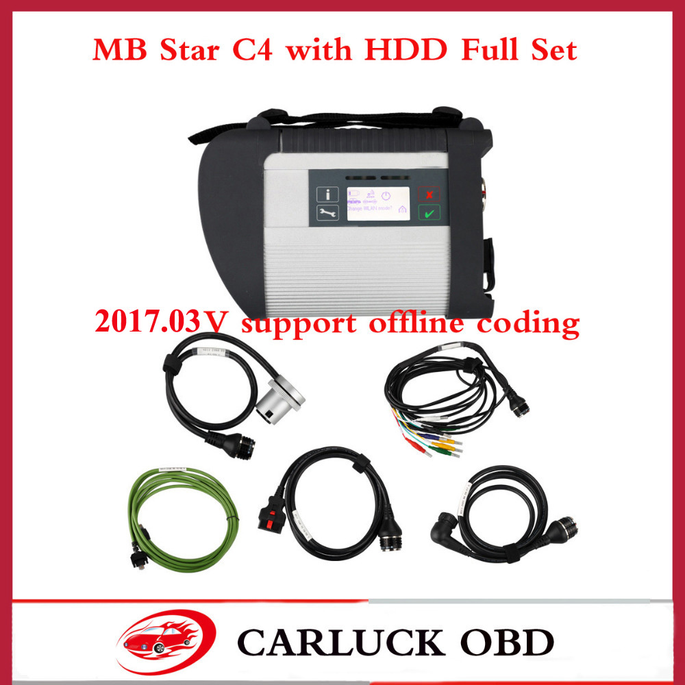 Mb star c4 diagnostic tool sd connect for mb car for Best mercedes benz diagnostic tool