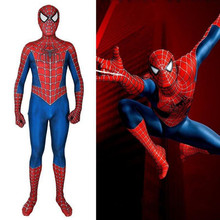 Classic Raimi Spiderman Halloween cosplay Costumes zentai Suit 3D digital print