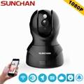 SUNCHAN High Quality 2.0 Megapixel 1080P 8XZoom IP Camera H.264 Wireless Supprt 64GB  1920*1080P Full HD WIFI IP CAM
