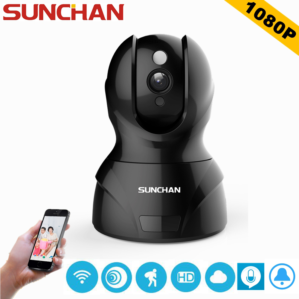 SUNCHAN High Quality 2.0 Megapixel 1080P IP Camera H.264 Wireless Supprt 64GB 1920*1080P Full HD WIFI IP CAM tr cvi313 3 best selling new high quality 300 500 meter transmission 3 6mm megapixel lens 2 0mp full hd 1080p camera cvi