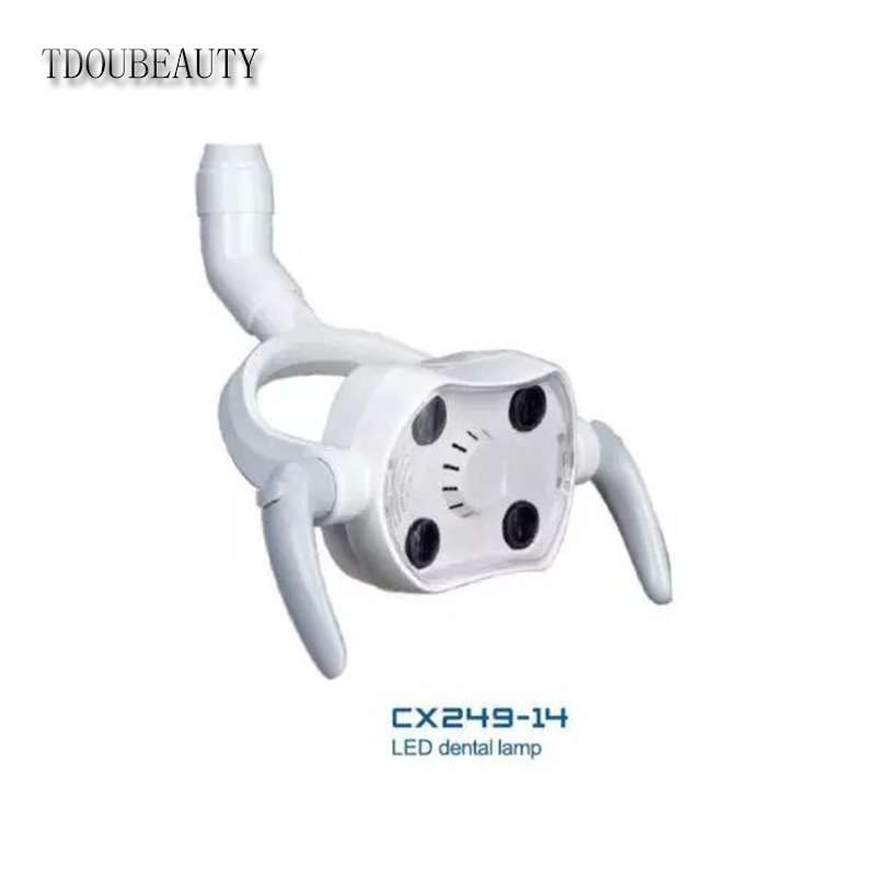 TDOUBEAUTY LED Oral Lamp Operating Light CX249-14 for Dental Chair Unit Free Shipping tdoubeauty oral camera 6 led light video