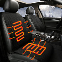 Heating car seat cover auto accessories for porsche cayenne macan panamera proton persona saab 9 3 9 5 for all years 2018