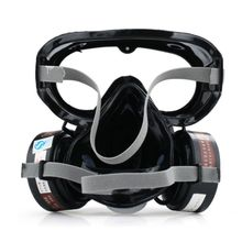 High Quality New 1Set 9600A One Piece Full Face Respirator Dust Gas Mask for Painting Spary Smoke Fire Synthesis Protection