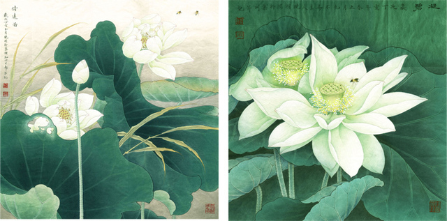 Scenery Painting Pastoral Traditional Chinese Style Gongbi Painting