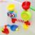 Adorável brinquedo presente das crianças toy kids engraçado banheira portátil sistema de aspersão de água brinquedos de banho à prova d' água na banheira para o bebê play