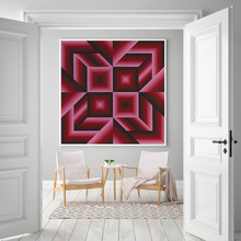 VICTOR VASARELY Saman Geometry Sports Abstract Inspirational Art Print Poster Canvas Painting Wall Photo Home Decor
