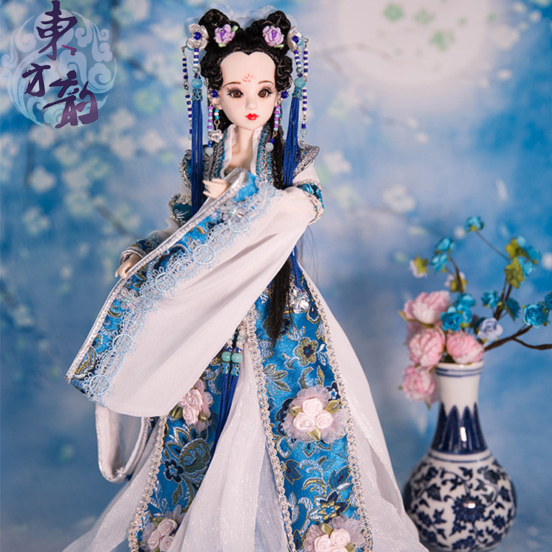 East Charm costume doll 1/6 like BJD Blyth Dolls Pingyang Princess with makeup latest gift collection high quality toys handmade chinese ancient doll tang beauty princess pingyang 1 6 bjd dolls 12 jointed doll toy for girl christmas gift brinquedo