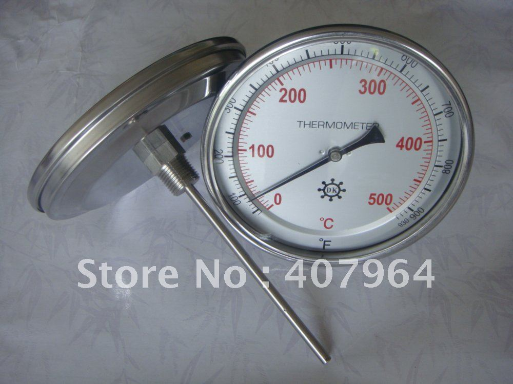 Best Sale #678fc China 150mm Dial Back Bimetal Thermometer