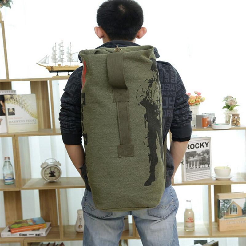 3 boje nove modne platnene pantalone casual torba muški vojni ruksak - Ruksaci - Foto 2