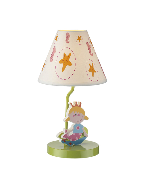 Kids Lamps Mermaid Princess Theme Table Lamp Children Light Bedroom LED  Light For Childrenu0027s Room Free