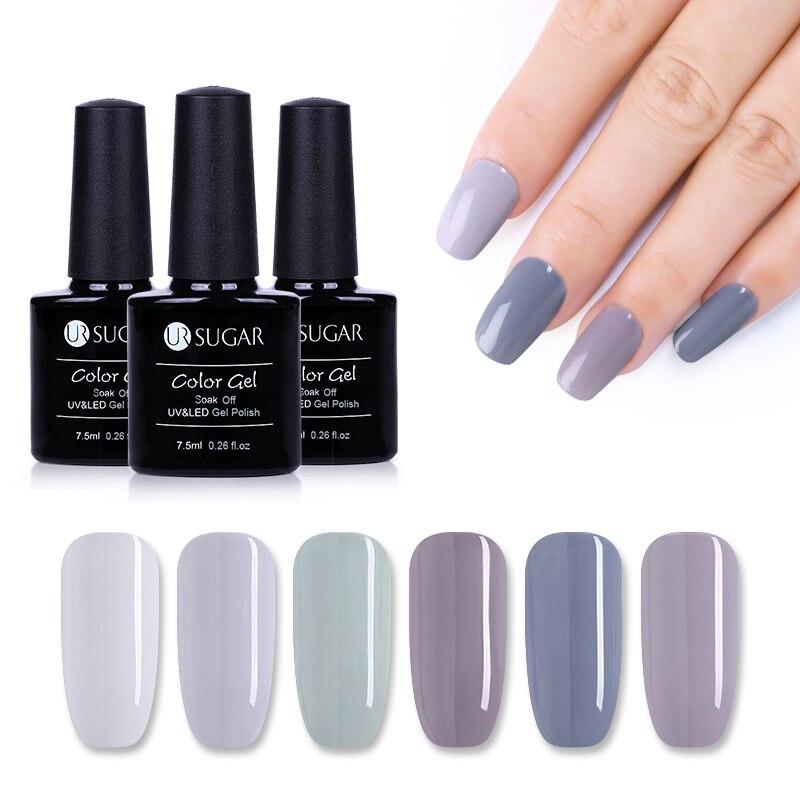 UR SUGAR 7.5ml Transparent Color Gel Nail Polish | Gel