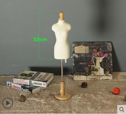 1/3 robes de femme forme Mannequin, jouer bijoux femmes flexibles couture, 1: 3 échelle buste en Jersey, rack réglable, petite taille Mini, M00021