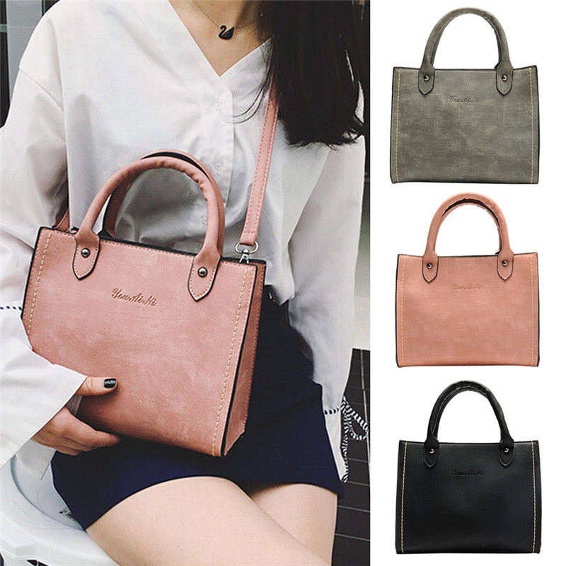 HB@Hot Sell INS Super Quality Women solid European minimalist design Messenger Bags