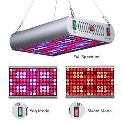 Venesun 300 w led cresce a planta do espectro completo do painel de luz que cresce o dispositivo elétrico dos bulbos com veg/bloom/interruptor completo para o crescimento das plantas internas