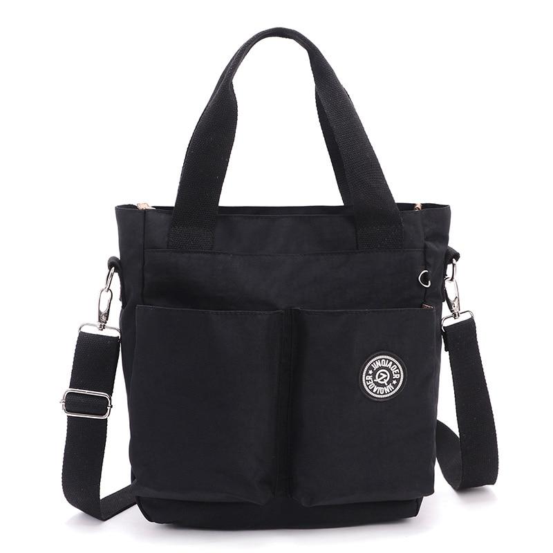 Sieviešu ūdensnecaurlaidīgs neilona Messenger somas dizaina rokassomas augstas kvalitātes stila sieviešu plecu soma māmiņa Tote Crossbody somas