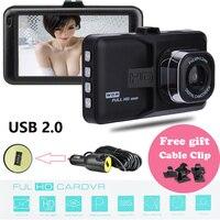 Bán buôn 3.0 inch màn hình Full HD 1080 P Car DVR mini Xe Dash xe Máy Ảnh Cam Recorder Video Registrator Đậu Xe ghi
