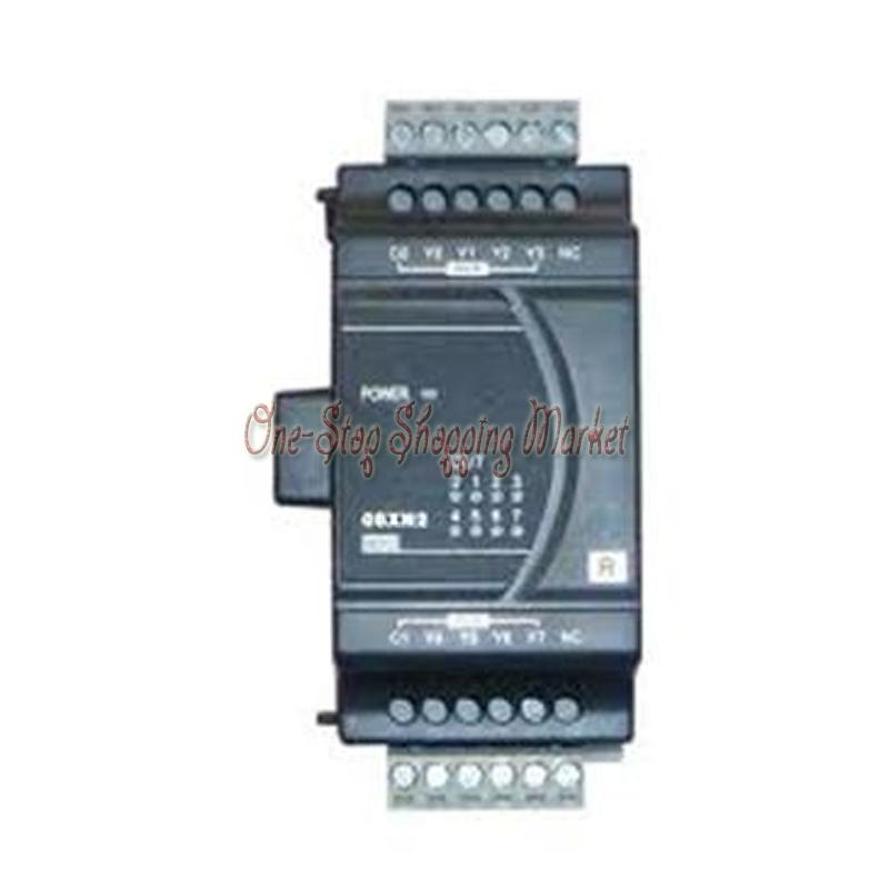 New Original Programmable Controller Digital PLC Module DI 4 DO 4 Transistor output DVP08XP211T new original programmable controller module dvp12sa211t plc 24vdc 8di 4do transistor