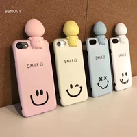 SFor Apple Iphone 8 Case Soft TPU Silicon Fill Light Women Girl Case For Apple Iphone