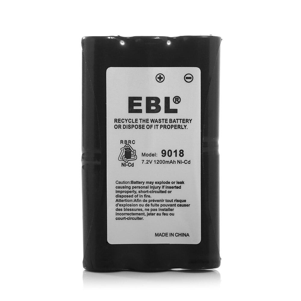 EBL 1200mAh 7.2v Rechargeable Battery For Motorola Radius HNN9018 HNN9018A HNN9018AR SP50 SP-50 CP50 Radio Batteries