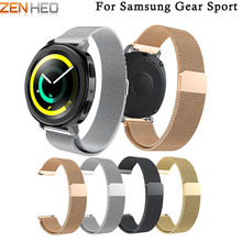 Milanese Loop for Xiaomi Huami Amazfit Bip PACE Lite Youth Link Bracelet Stainless Steel For Garmin 645/Vivoactive 3