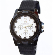men's watch Relogio masculino Fashion Gemius Army Racing Force Military Sport Men Officer Fabric Band Ladies Watch man XL33