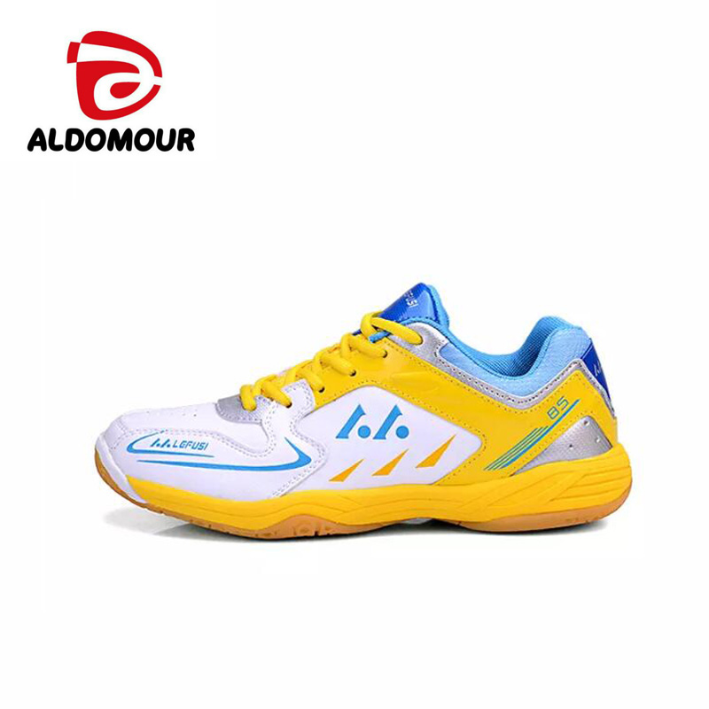 detailed look ef6f0 1724d ALDOMOUR Men Women Volleyball Shoes 2018 Anti Slipper Hard Wearing Sports  Shoes Table Tennis Shoes Blue Green Color zzl-in Volleyball Shoes from  Sports ...