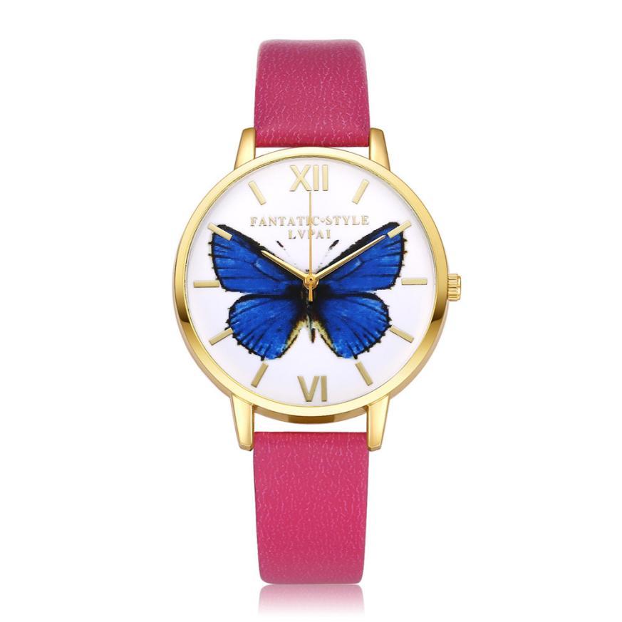 LVPAI Γυναίκες WristWatch Χρυσή μόδα - Γυναικεία ρολόγια - Φωτογραφία 3