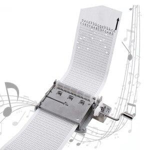 Image 1 - 30 הערה מכאני מוסיקלי תיבת קלטת יד Crank מוסיקה תנועת תיבת חלק + אגרופן עם 3 רצועות DIY שירים מושלם מתנת סט חם