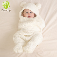2019 Best Seller Newborn Cotton Sleeping Bags Hug for Autumn and Winter Thickening Baby Swaddling Towel Soft Comfort Insulation