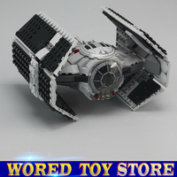 LEPIN 05030 Star Series War 722Pcs Vader Set Tie Advanced VS A Toys Wing Star Fighter