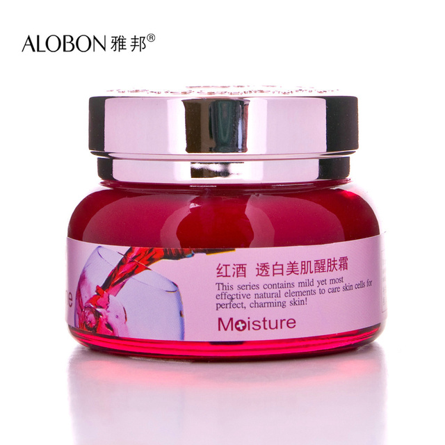 ALOBON Red Wine Polyphenols Extract Primordiale Cream 50g Skin Care Moisturizing Skin Whitening Face Care product