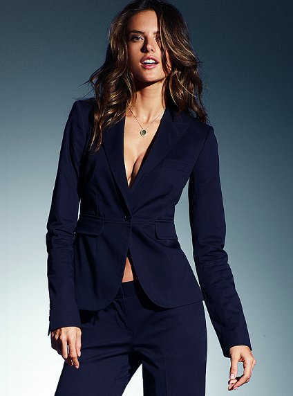 New Plus Size 4xl Professional Office Designs Custom Made Navy Women Elegant Pants Suits Career Business Las Work Wear In Pant From S