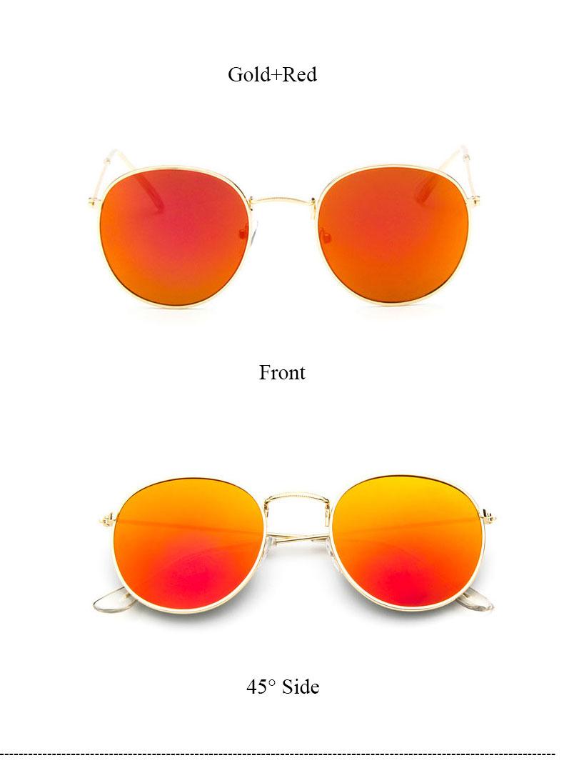 HTB1bEmBQVXXXXbOXXXXq6xXFXXXE - Round Sunglasses Women Retro Brand Designer Classic Rose Gold Steampunk Sun Glasses Men UV400 Rayed Mirror Female UV400