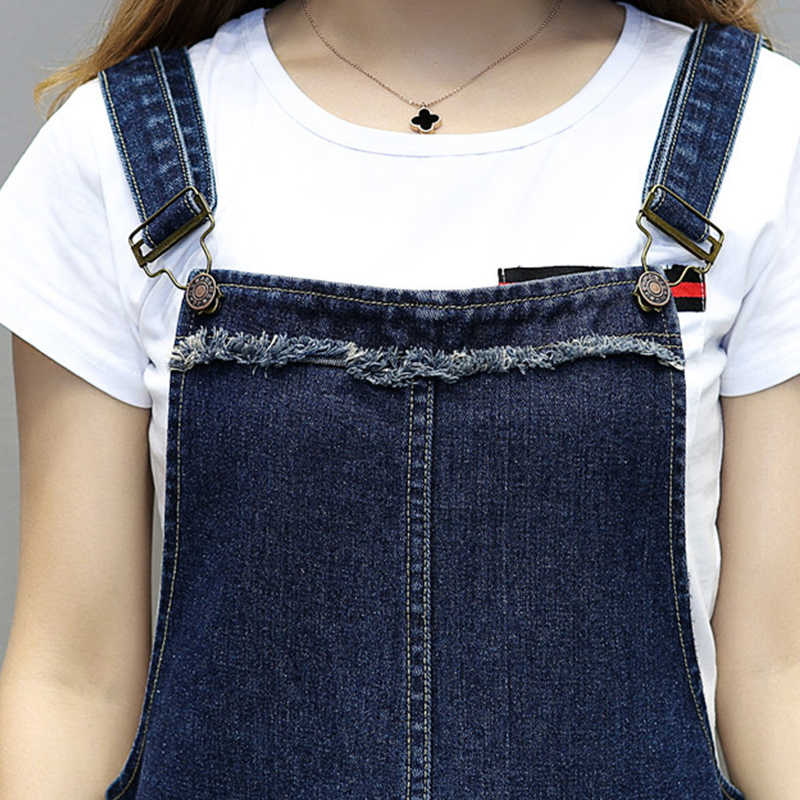 5XL плюс Размер 2019 Новое весенне-летнее женское свободное платье удобрение добавленное жир длинные джинсовые ремни облегающие платья синие женские HS278
