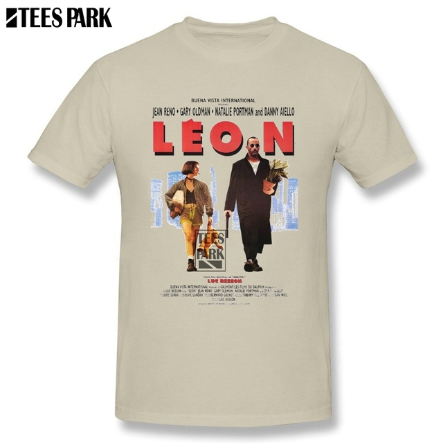 8a8d37f5 T Shirt Leon the Professional Vintage Funny Tee Shirts Men O Neck Tees  Promotion Male Sale For T Shirt Uniforms