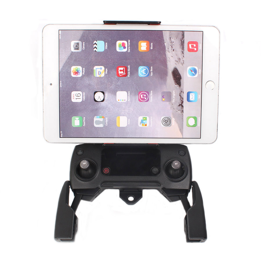 Front Smartphone Tablet Bracket Scalable Holder Stretching Support for DJI SPARK & MAVIC Controller 7.9in, 9.7in, 10.5in tablets