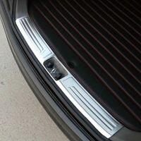 자동차 리어 범퍼 프로텍터 스텝 패널 부트 프로텍터 플레이트 커버 씰 리어 트렁크 도어 씰 현대 ix35 2010-2015 자동차 스타일링