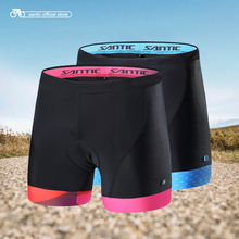 Santic Wonder Women Cycling Shorts Mtb Maillot Bermuda Ciclismo Bicycle Cuissard Velo Homme Pro Gel 5082