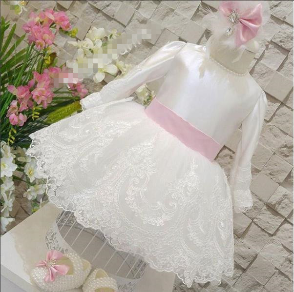 white kids dresses for girls wedding kids baby girls lace dress party prom bridesmaid kids fashion comfortable bridesmaid clothes tulle tutu flower girl prom dress baby girls wedding birthday lace chiffon dresses
