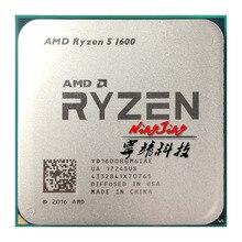 AMD Ryzen 5 1600 R5 1600 3.2 GHz sześciordzeniowy dwanaście wątków 65W procesor CPU YD1600BBM6IAE gniazdo AM4
