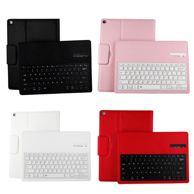 Ultra-thin Detachable Magnetic Keyboard Wireless Bluetooth Keyboard PU Leather Case Cover For iPad Pro 12.9''
