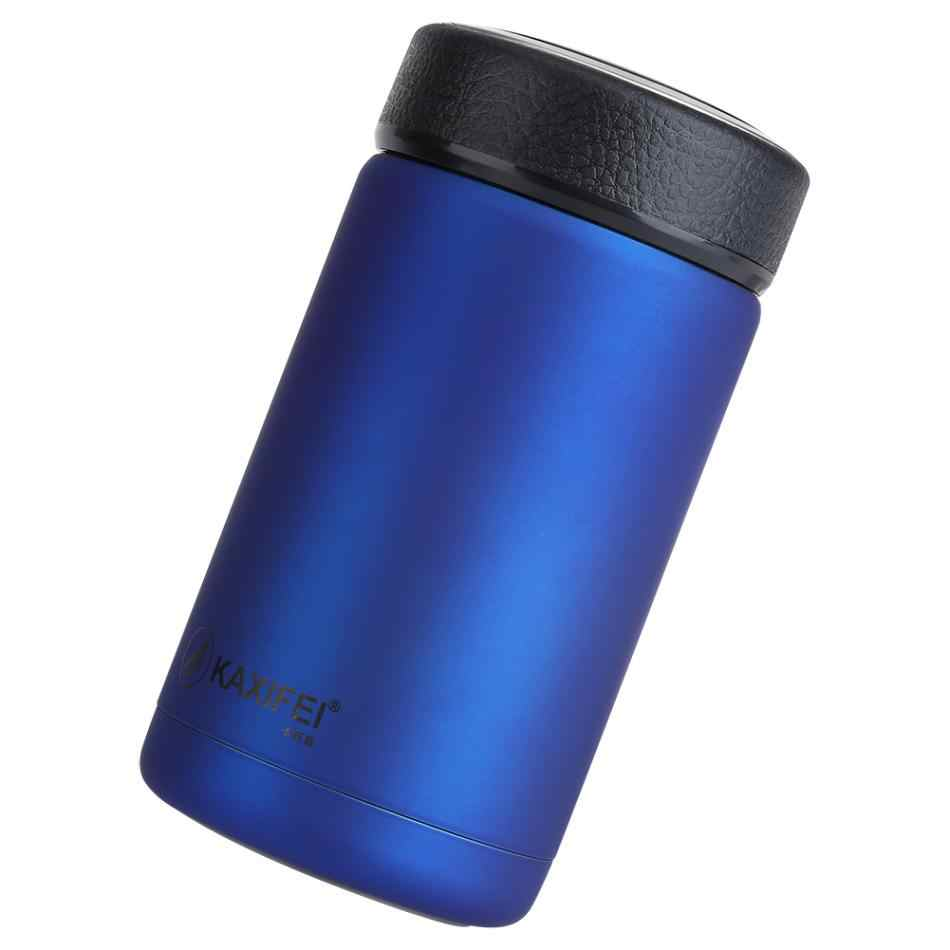338c9028409 ... KAXIFEI Men Gift Thermos Bottles 400ml Insulated Cup 304 Stainless  Steel Thermo Mug Water Bottle Vacuum ...