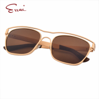 ERRAI Punk Summer Women Men Sunglasses Upscale Mirror Square 2 Style Transparent Frame Plastic Sun Glasses