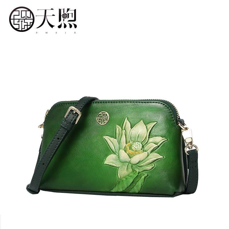 5b1ad1ec7406 TMSIX 2018 новые женские сумки из натуральной кожи дизайнерские знаменитые  брендовые модные тисненые сумки женские сумки